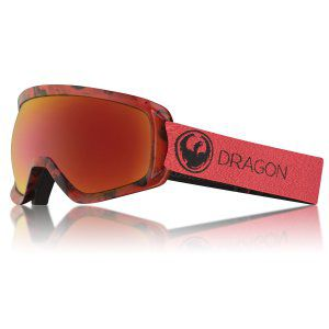 GOGLE DRAGON D3 OTG 2018 MILL RED ION