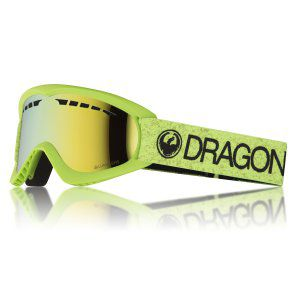 GOGLE DRAGON DX 2018 GREEN|GOLD ION