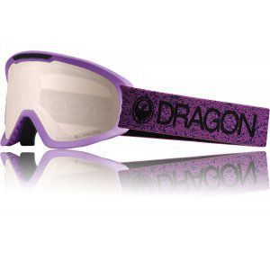 GOGLE DRAGON DX2 2019 VIOLET|SILVER ION