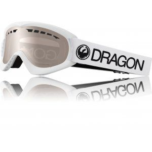 GOGLE DRAGON DXS 2019 WHITE|SILVER ION