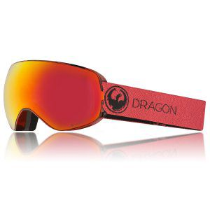 GOGLE DRAGON X2S 2018 MILL|RED ION