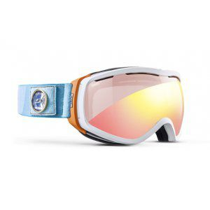 GOGLE JULBO ELARA 2018 WHITE ORANGE TURQUOISE|RED FLASH
