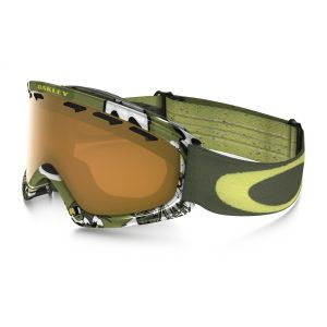 GOGLE OAKLEY  O2 XS  SHADY TREES ARMY GREEN|PERSIMMON