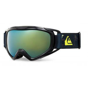 GOGLE QUIKSILVER  EAGLE 2.0 2018 BLACK DARK DOGGY SNOW|ORANGE ML GOLD