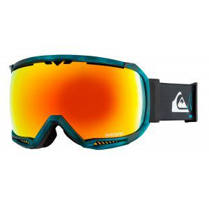 GOGLE QUIKSILVER HUBBLE TR 2019 STELLAR BLUE|HD BROWN ML FIRE RED