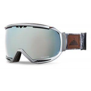 GOGLE QUIKSILVER HUBBLE 2018 DARK SHADOW|GREY + ML WHITE