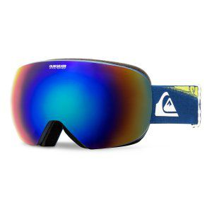 GOGLE QUIKSILVER QS-R 2018 VALLARTA BLUE|AMBER ROSE ML GREEN BLUE