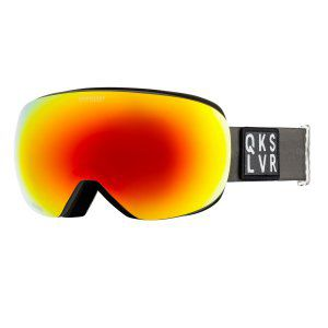 GOGLE QUIKSILVER QS-R 2019 TANENBAUM GRAPE LEAF|SONAR SN040 ML RED