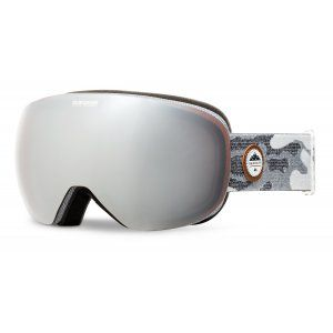 GOGLE QUIKSILVER QS-R 2018 BLACK GREY CAMOKAZI|AMBER ROSE ML SUPER SILVER