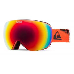 GOGLE QUIKSILVER QS-R 2018 MANDARIN RED|AMBER ROSE ML FIRE RED