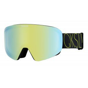 GOGLE QUIKSILVER QS-RC 2019 LIME GREEN|GREEN EMERALD GREEN