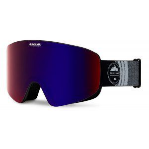 GOGLE QUIKSILVER QS-RC 2018 GREY HEATHER|AMBER ROSE ML PURPLE