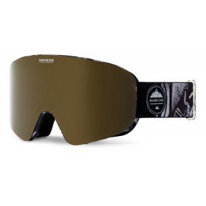 GOGLE QUIKSILVER QS-RC 2018 BLACK THUNDERBOLTS|AMBER ROSE ML BRONZE