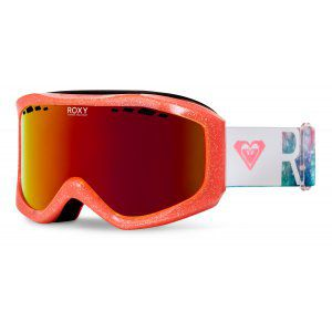 GOGLE ROXY SUNSET 2018 NEON GRAPEFRUIT SOLAR GRADIENT|AMBER ROSE ML FIRE RED