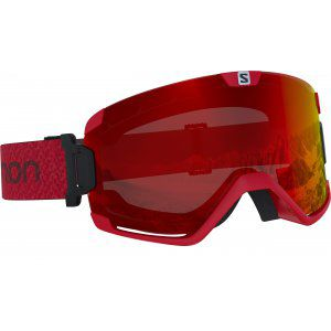 GOGLE SALOMON COSMIC 2019 MATADOR|MID RED