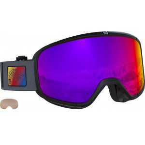 GOGLE SALOMON FOUR SEVEN 2019 BLACK|INFRARED
