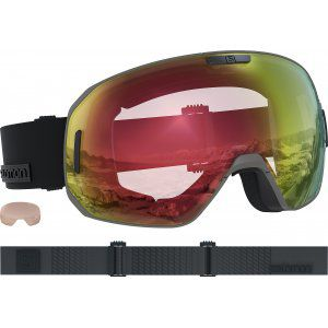 GOGLE SALOMON SMAX PHOTO 2019 BRONZE|ALL WEATHER RED