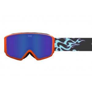 GOGLE TRIPOUT BLAZE FLAMERIDER|ORANGE|DARK LAGOON