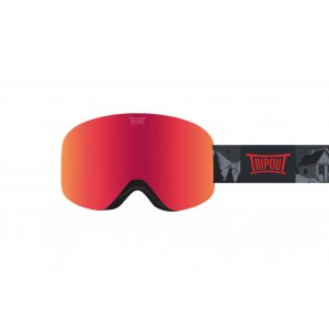 GOGLE TRIPOUT RACER GRIZZLY|FRESH ORANGE+CLEAR