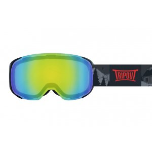 GOGLE TRIPOUT STEEZ GRIZZLY|BLACK|MINT MIRRORED+FOGGY