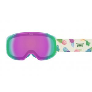 GOGLE TRIPOUT STEEZ PINEAPPLE|TURQUOISE|PURPLE+CLEAR