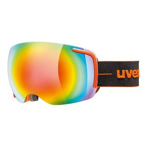 GOGLE UVEX  BIG 40 FM 2017 ORANGE MAT|MIRROR RAINBOW CLEAR S2