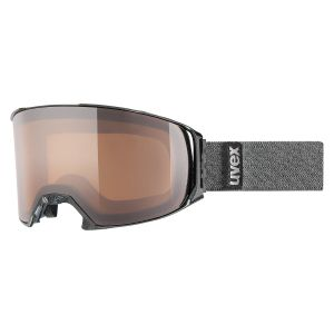 GOGLE UVEX  CRAXX OTG P  2017 BLACK MAT|POLAVISION BROWN CLEAR S2