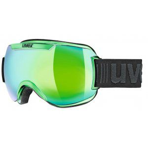 GOGLE UVEX  DOWNHILL 2000 FM CHROME 2018 GREEN CHROME|MIRROR GREEN CLEAR S3