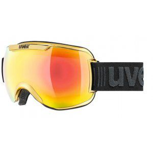 GOGLE UVEX  DOWNHILL 2000 FM CHROME 2018 YELLOW CHROME|MIRROR YELOW CLEAR S3