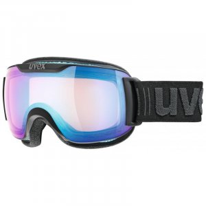 GOGLE UVEX  DOWNHILL 2000 S VFM  2019 BLACK MAT|VARIOMATIC MIRROR BLUE S1-3