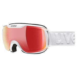 GOGLE UVEX  DOWNHILL 2000 S VFM  2018 WHITE|VARIOMATIC RED MIRROR