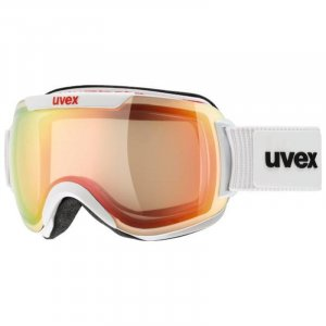 GOGLE UVEX  DOWNHILL 2000 VFM  2019 WHITE|VARIOMATIC MIRROR RED CLEAR S1-3