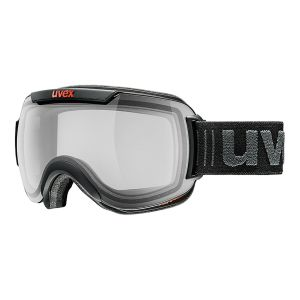 GOGLE UVEX  DOWNHILL 2000 VP X 2017 BLACK MAT|VARIOMATIC POLAVISION SMOKE S2-4