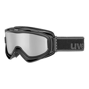 GOGLE UVEX  G.GL 300 TO 2019 BLACK MAT|LASERGOLD LITE CLEAR S1|MIRROR SILVER S3
