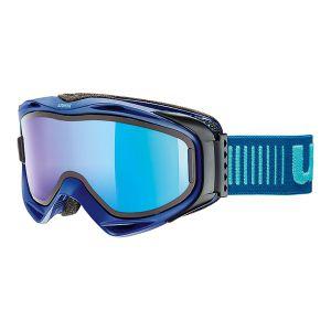 GOGLE UVEX  G.GL 300 TO 2017 NAVY MAT|LASERGOLD LITE CLEAR S1|MIRROR BLUE S3