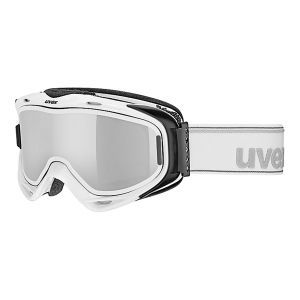 GOGLE UVEX  G.GL 300 TO 2018 WHITE|LASERGOLD LITE CLEAR S1|MIRROR SILVER S3