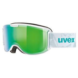 GOGLE UVEX  SKYPER FM  2017 WHITE MINT|MIRROR GREEN CLEAR S2