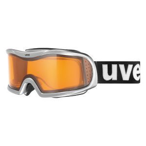 GOGLE UVEX  VISION OPTIC L 2017 ALU CHROME SILVER|LASERGOLD LITE|CLEAR S1