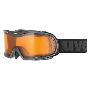 GOGLE UVEX  VISION OPTIC L 2017 BLACK MET|LASERGOLD LITE|CLEAR S1