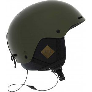 KASK SALOMON BRIGADE+ AUDIO 2019 ZIELONY