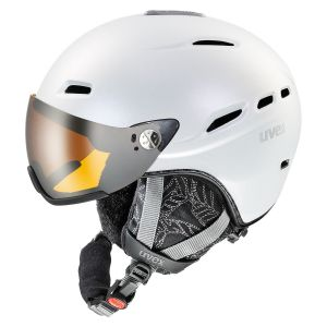 KASK UVEX  HLMT 200 WL WHITE PEARLESCENT 2017 BIAŁY