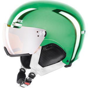 KASK UVEX  HLMT 500 VISOR CHROME LTD  2018 ZIELONY