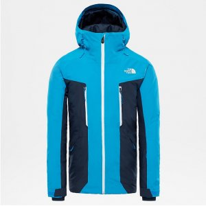 KURTKA THE NORTH FACE MOUNT BRE 2019 NIEBIESKI