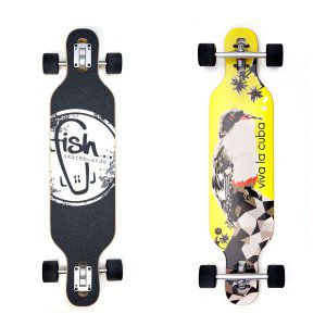 LONGBOARD FISH SKATEBOARDS LONGBOARD 35