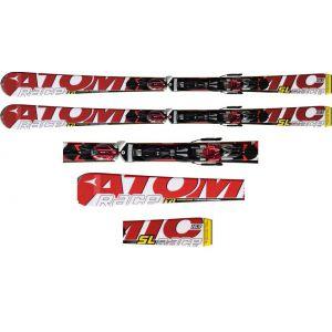 NARTY ATOMIC RACE TI PB SL 2012 + WIĄZANIA NEOX TL 12