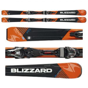 NARTY BLIZZARD POWER S8 2016 + WIĄZANIA POWER12 TCX