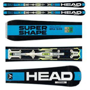 NARTY HEAD I.SUPERSHAPE TITAN 2016 + WIĄZANIA PRX 12 S BR 85
