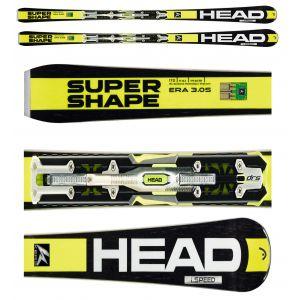 NARTY HEAD I.SUPERSHAPE SPEED 2016 + WIĄZANIA PRX 12 S BR 85