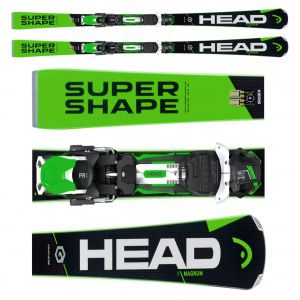 NARTY HEAD SUPERSHAPE I.MAGNUM 2017 + WIĄZANIA PRX 12 BRAKE 85