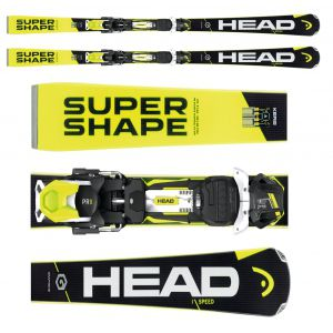 NARTY HEAD SUPERSHAPE I.SPEED 2017 + WIĄZANIA PRX 12 BRAKE 85